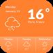 Accu Weather Widget by Applock Security