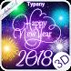 Animated New Year Fireworks Theme&Emoji Keyboard by Cool Keyboard Theme Design