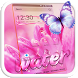 Pink Love Raindrop Theme by Theme Lovely