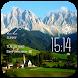 Alps weather widget/clock by Widget Dev Team