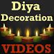 DIY Diya/Lamp Decoration VIDEO by Karan Thakkar 202
