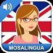 Aprender inglés gratis : vocabulario para hablar by MosaLingua Crea