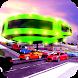 Futuristic Gyroscopic Transportation: Elevated Bus