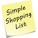 Simple Shopping List by C.J.Presler