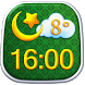 Islam Clock Weather Widget by Super Widgets