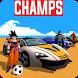Downwell Superheroes Car Race by Game Pixels Studio
