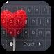 Hearts Lollipop Keyboard by Keyboard Theme Factory