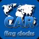 CAR flag clocks by modo lab
