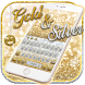 Gold and Silver Glitter Keypad by Ajit Tikone