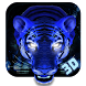 Ice Angry Tiger 3D Theme by Elegant Theme