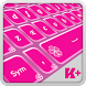 Keyboard Plus Pink Theme by Free Keyboard Themes HD