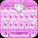 Rosy Glitter Keypad