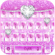 Rosy Glitter Keypad by Ajit Tikone