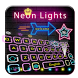 Purple Neon Star Glow Keyboard Theme by Enjoy the free theme