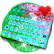 Sequin Flip Glitter Keyboard Theme by theme master