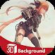 Anime Girl Sniper 3d Live Wallpaper