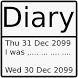 Simplest Diary by Blacksmith DoubleCircle