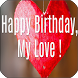 Happy Birthday My Love Quotes by Apps Happy For You