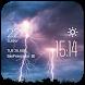 Lightning temp weather widget by Widget Dev Studio