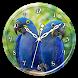 Hyacinth Macaw Clock Live WP by Ripple Clocks