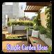 Simple Garden Ideas by Nephilim