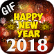 Happy New Year GIF 2018 by Astik Apps