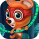 Flying with Rope Bear Game by Erequest - MadQuail Games and Apps