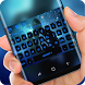 blue galaxy Alan Walker Keyboard by Sexy Theme for Smart Phone