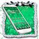 Green Glitter by Cool Launcher Theme