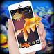 Fish In Phone Aquarium Joke :Golden Fish On Screen by World Dex