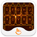 Orange Light Keyboard Theme by TouchPal HK