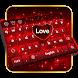 Love Keyboard by Keyboard Tema Designer