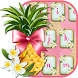Flamingo Pineapple Keyboard by ChickenAnt Themes