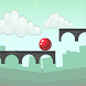 Bouncy Ball - Tuffy Red Ball by Tapdiem