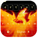 Fire Dragon Keyboard by cool wallpaper