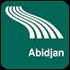 Abidjan Map offline by iniCall.com