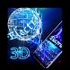 3D Electric Keyboard by Echo Keyboard Theme