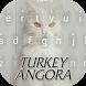 Turkey Angora Cute Kitty Theme&Emoji Keyboard by Keyboard Fantasy