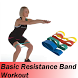 Basic Resistance Band Workout by High Soft App