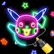 Learn To Draw Glow Cartoon by Creative Labs Appz