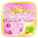 (FREE)GO SMS GOLDEN ROSE THEME by ZT.art