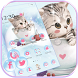 Cute Kitty Theme lovely Cup Cat Wallpaper by LXFighter-Studio