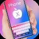 Phone X keyboard