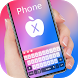 Phone X keyboard by Keyboard Design Paradise