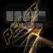 Gold Peace Rasta Keyboard by Emoji Keyboard Theme Design