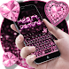Heart Diamond Keyboard Theme by Keyboard Design Yimo