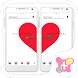 [Pair Wallpaper]Pair Heart by +HOME by Ateam