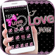 Pink Lace Love Bow Theme Wallpaper by Luxury Themes Studio beauty