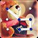 Teddy Bear Pattern Lock Screen by Appsdebugger