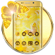 Butterfly Gold Wallpaper Theme by Best theme for Android